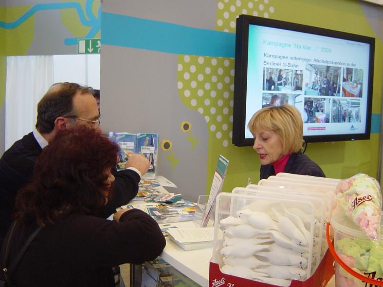 """Kampagne """"Na klar!"""" präsent auf der Internationalen Grünen Woche 2010"""