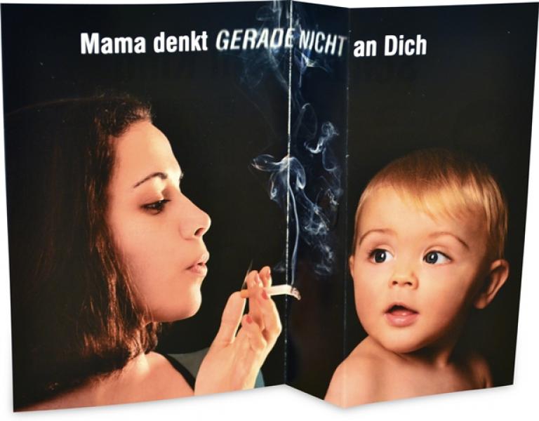 "Mama denkt (gerade nicht) an Dich – Schütze Dein Kind!"""