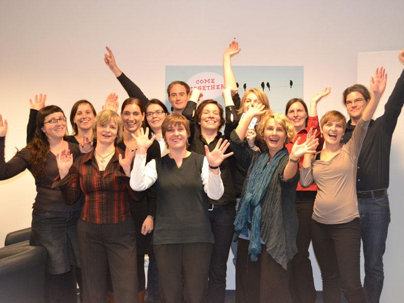 Das Team der Fachstelle für Suchtprävention Berlin
