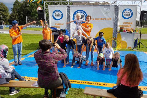 "Familiensportfest ""Sport im Olympiapark"""